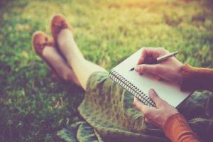 escrever e midias